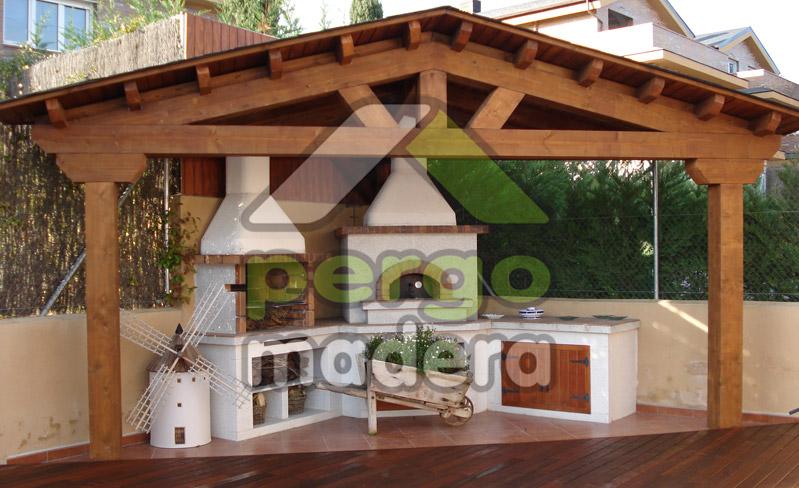 Cenadores de madera fotos imagenes galeria videos - Transferir fotos a madera ...